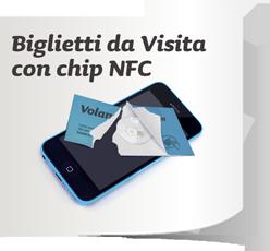 Biglietti da visita Chip NFC