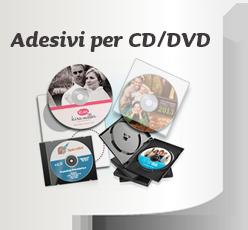 Adesivi per CD/DVD