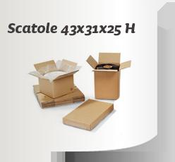 Scatola 430x310x250H