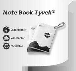 Notebook Idea Tyvek