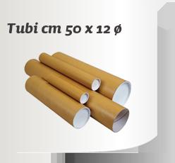 Tubi cm. 50x12 diam.